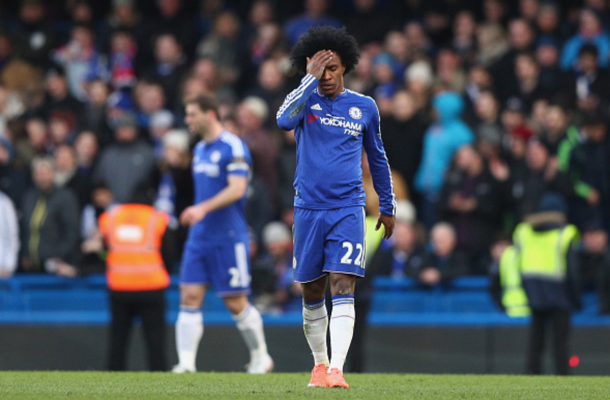 Chelsea were left disappointed with just a point. (Picture: Getty Images)
