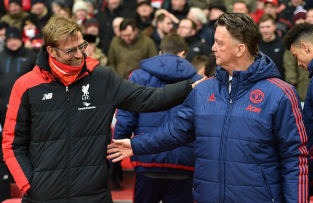 Klopp will be looking to end Liverpool's four-match losing streak to United. (Picture: Getty Images)