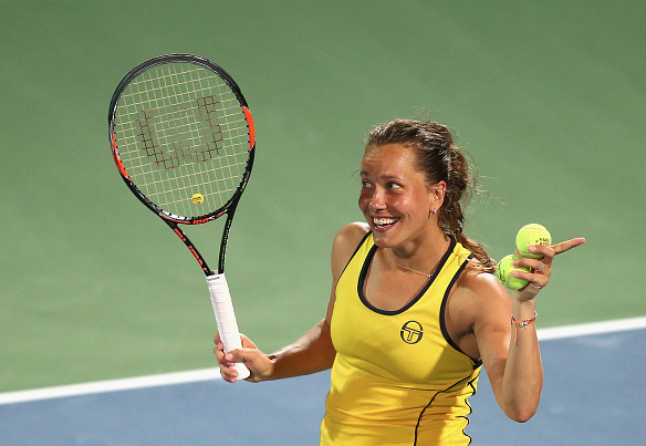 Strycova on her road to the Dubai Final. Photo:Getty Images/Francois Nel