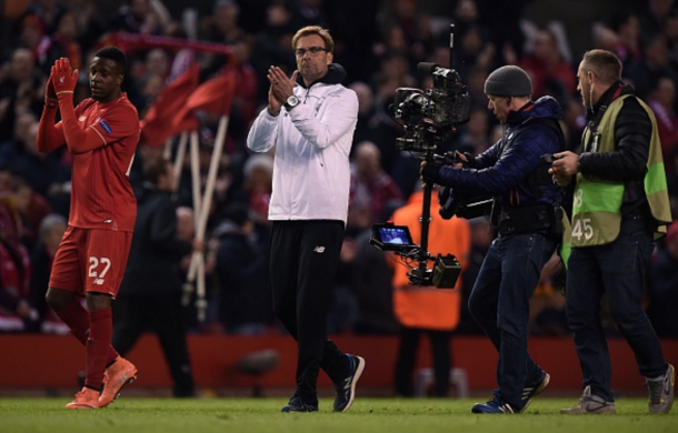Klopp and co. are looking to reach the final eight of the competition. (Picture: Getty Images)