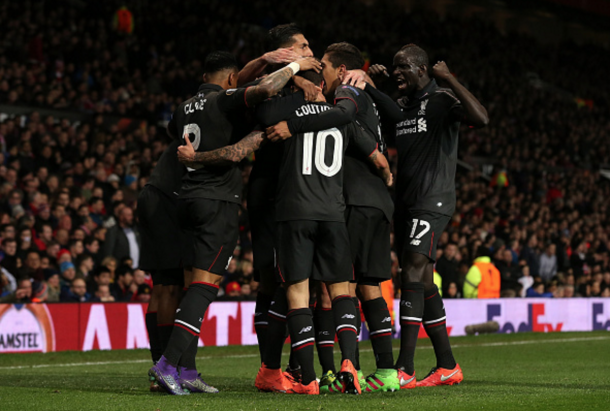 Philippe Coutinho's stunning solo goal helped Liverpool into the quarters. (Picture: Getty Images)