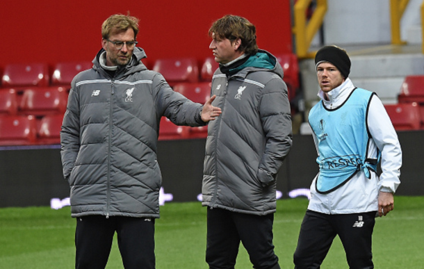 Moreno picked up the injury in an open training session at Old Trafford on Wednesday. (Picture: Getty Images)