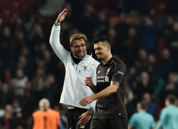 Klopp has been impressed by Lovren's recent form. (Picture: Getty Images)