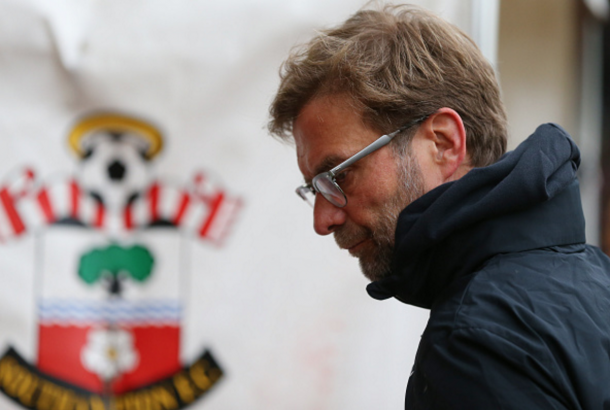 Klopp endured a frustrating afternoon at St Mary's on Sunday. (Picture: Getty Images)