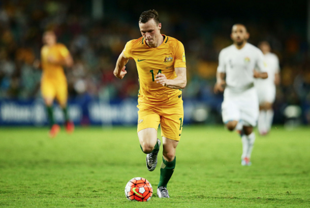 Smith in action for his country over the recent international break. (Picture: Getty Images)