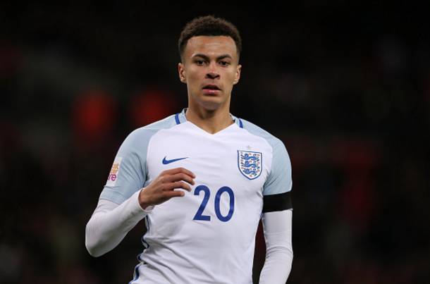 Alli has taken to the international stage like a duck to water. (Picture: Getty Images)