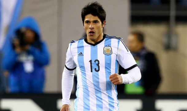 Roncaglia in action for Argentina earlier in his career. (Picture: laseleccion.com.ar)