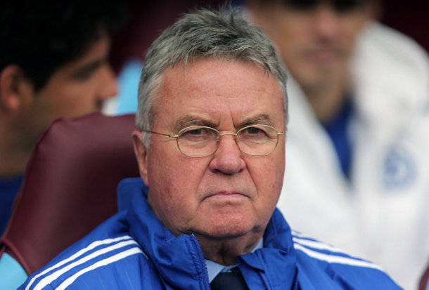Chelsea boss Guus Hiddink will be replaced in the summer. (Picture: Getty Images)