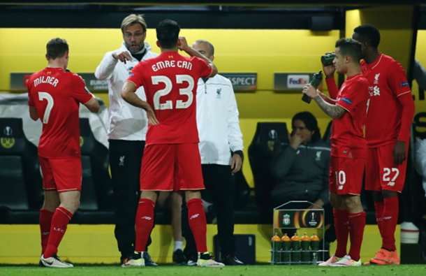 Klopp's game plan worked excellently to give them a strong chance of progressing. (Picture: Getty Images)