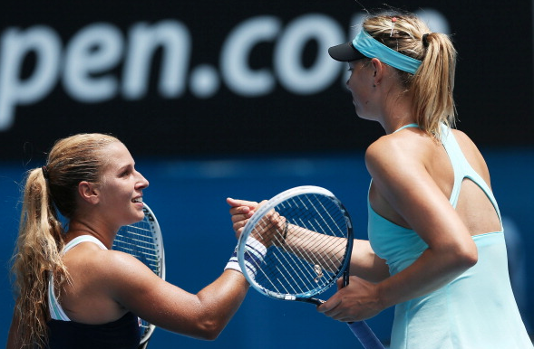 Cibulkova and Sharapova competed against one another for many years | Photo Courtesy: Getty Images Sport | Clive Brunskill