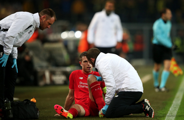 Henderson is out of Sunday's game through a serious knee injury. (Picture: Getty Images)