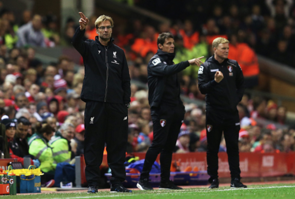 Klopp has faced Bournemouth once already this season, winning 1-0. (Picture: Getty Images)