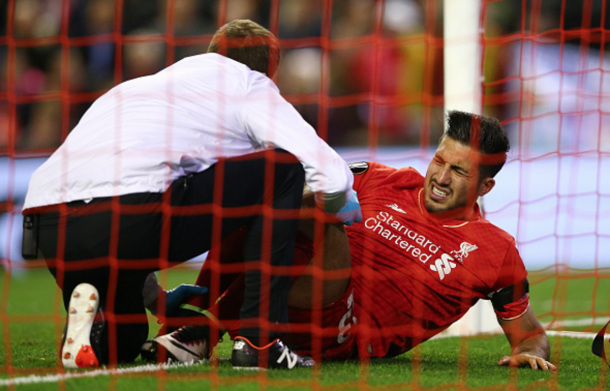 Emre Can will miss out through injury and could sit out for the rest of the season. (Picture: Getty Images)
