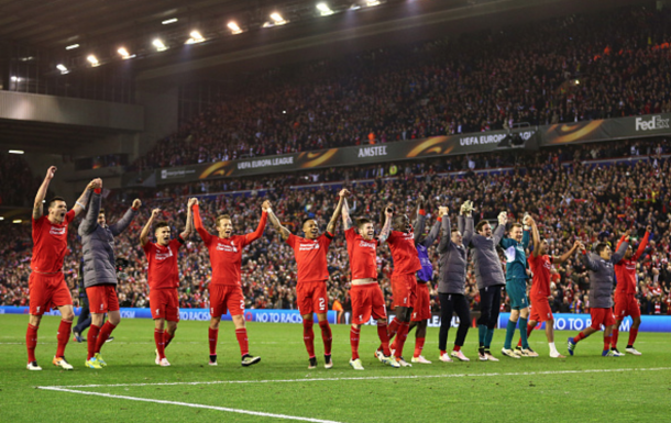 Liverpool's incredible win over Dortmund ranks among the club's greatest ever European nights. (Picture: Getty Images)