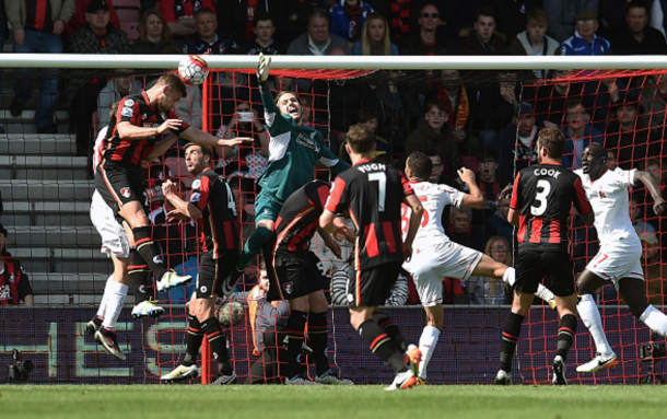 Ward was solid throughout and could do little to prevent Bournemouth's goal. (Picture: Getty Images)