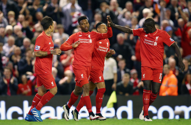Sturridge celebrates making it 3-0 with a fine finish. (Picture: Getty Images)