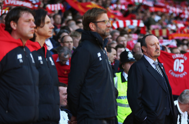 Rafael Benitez made only his second return to Anfield since leaving the club in 2010. (Picture: Getty Images)