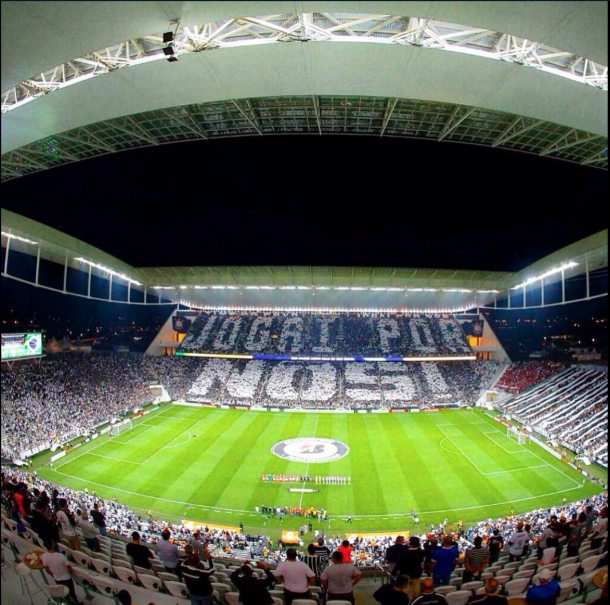 Arena Corinthians has become a fortress for the Brazilian club (Photo via Corinthians/ @A_Corinthians on Twitter)