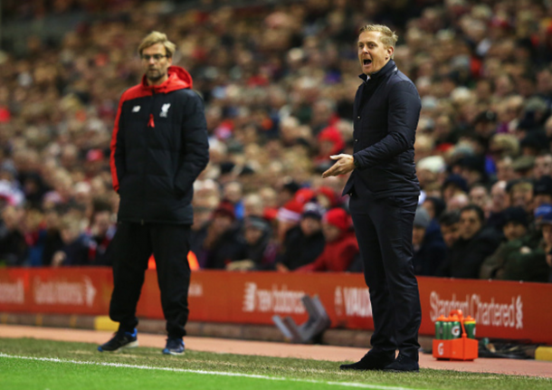 Klopp has already faced up against the Swans, when Garry Monk was the manager in October. (Picture: Getty Images)