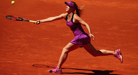 Elina Svitolina in action. Photo:Getty Images/Clive Brunskill