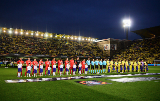 Last week's meeting at El Madrigal was the first competitive fixture between the two teams. (Picture: Getty Images)