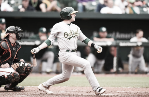 Jed Lowrie and the Oakland offense will look to recover from a rough stretch this series. | Getty