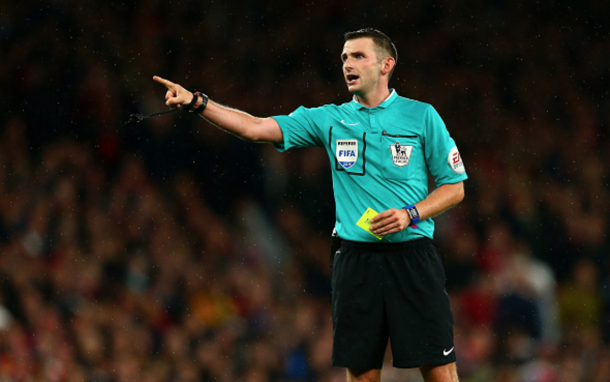 Oliver refereeing for Arsenal 0-0 Liverpool back in August. (Picture: Getty Images)