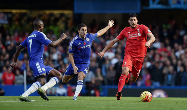 Emre Can could make his first league start since 2nd April. (Picture: Getty Images)