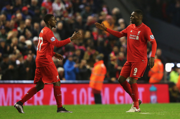 Origi and Benteke have both hit 10 goals for Liverpool in their first seasons at the club. (Picture: Getty Images)