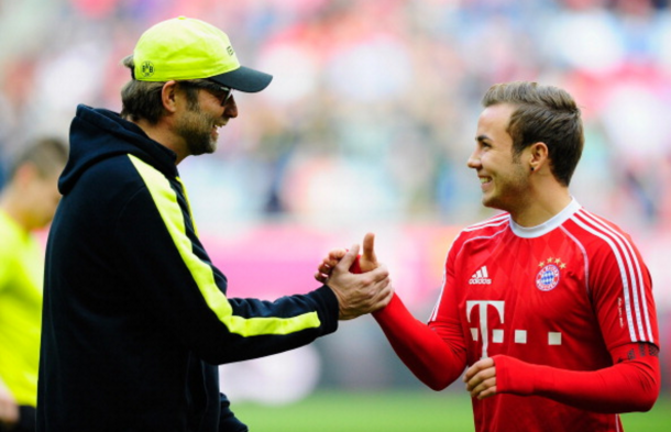Klopp is known to be a huge admirer of Götze, who he coached at Borussia Dortmund. (Getty Images)