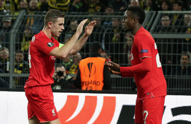 Henderson and Origi are bidding to be in contention for the Reds' Europa League final squad. (Picture: Getty Images)