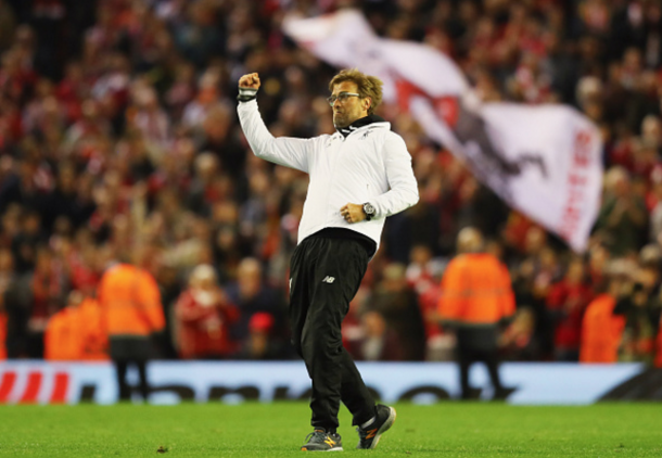 Klopp is glad to have restored joy to Liverpool supporters with their European victories. (Picture: Getty Images)