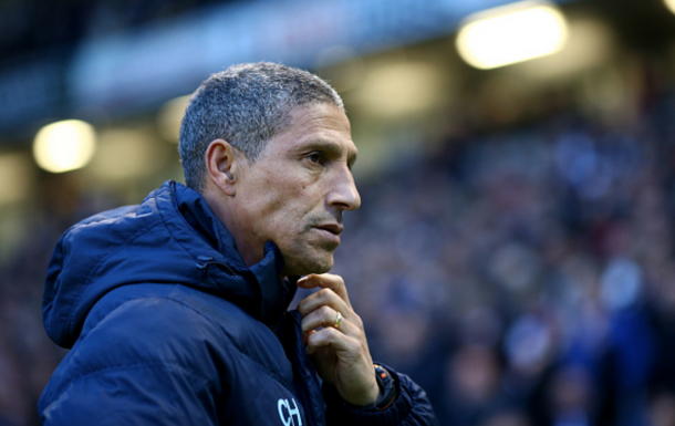 Hughton has overseen an incredible improvement from Brighton in his first full season. (Picture: Getty Images)
