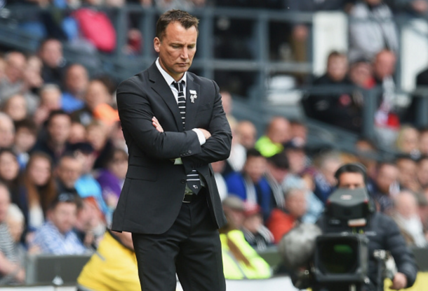 Derby manager Darren Wassall will be disappointed with his side's showing. (Picture: Getty Images)