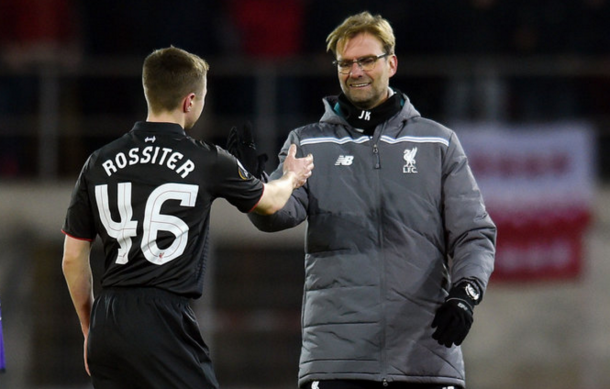 Rossiter has not featured for Liverpool since early December 2015. (Picture: Getty Images)