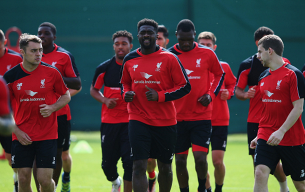Many of the Reds' fringe players are expected to be involved at West Brom. (Picture: Getty Images)