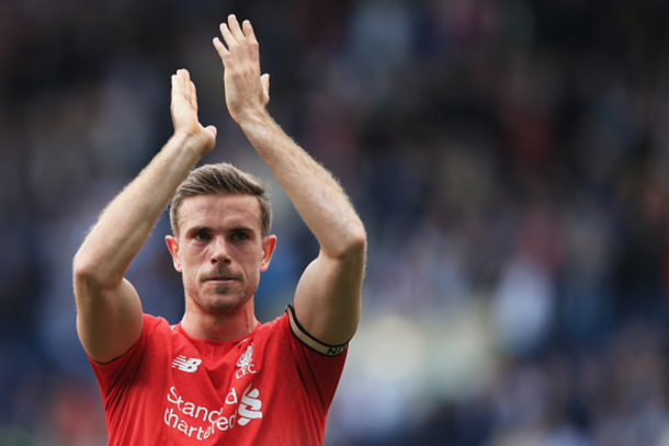 Reds skipper Henderson also returned from injury at West Brom. (Picture: Getty Images)