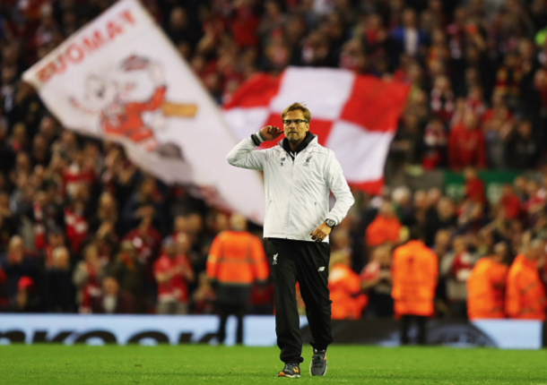 The enigmatic Jürgen Klopp has had quite the impact at Liverpool. (Picture: Getty Images)