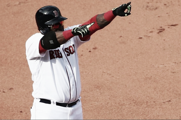 David Ortiz leads the AL with an astronomically high 1.101 OPS. | Getty