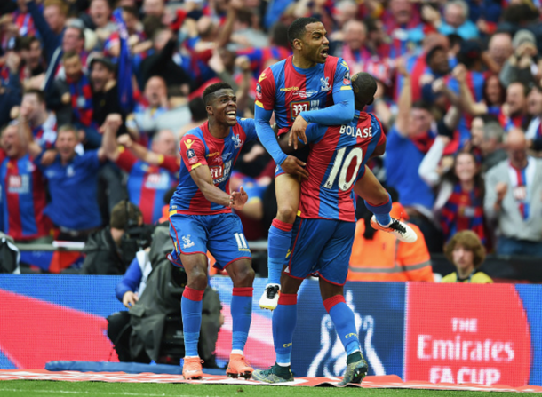 Puncheon handed Palace the opener, but it wasn't enough. (Picture: Getty Images)