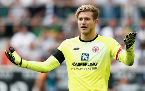 Karius in action for Mainz. (Picture: Getty Images)