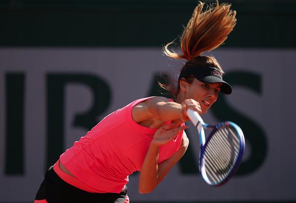 Tsvetana Pironkova during last year's French Open. Photo: Getty Images/Clive Brunskill