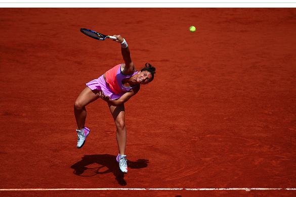 Sara Errani during last year's French Open. Photo: Getty Images/Dan Istitene