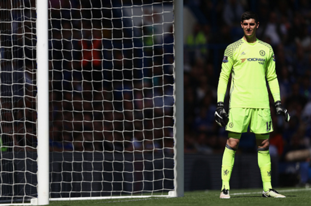 Courtois in action for Chelsea towards the end of last season. (Picture: Getty Images)