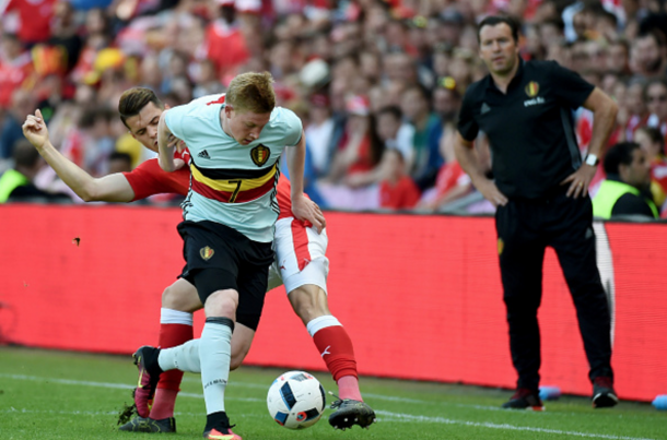 Wilmots boasts one of the most polished squads at the tournament, including De Bruyne. (Picture: Getty Images)