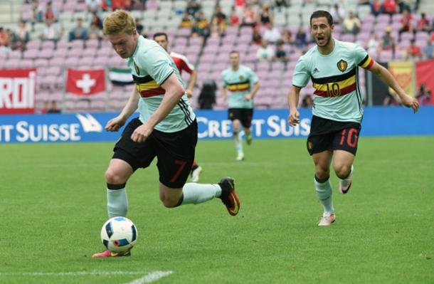 De Bruyne and Hazard are both expected to feature against Finland. (Picture: Getty Images)