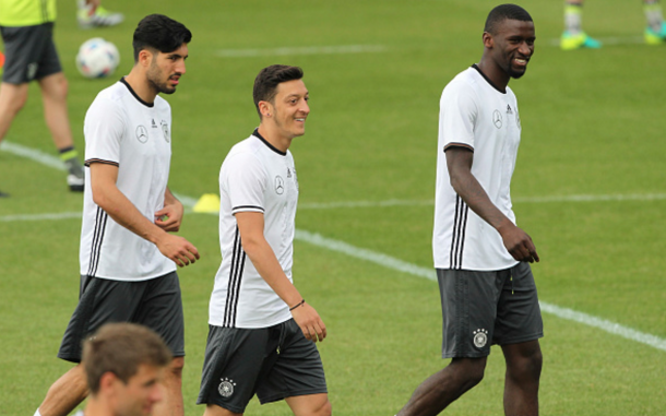 Emre Can joins a glittering Germany squad this summer. (Picture: Getty Images)