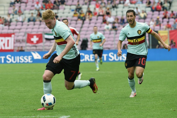 De Bruyne and Hazard will be the stars for Belgium, if they can handle the pressure. (Picture: Getty Images)