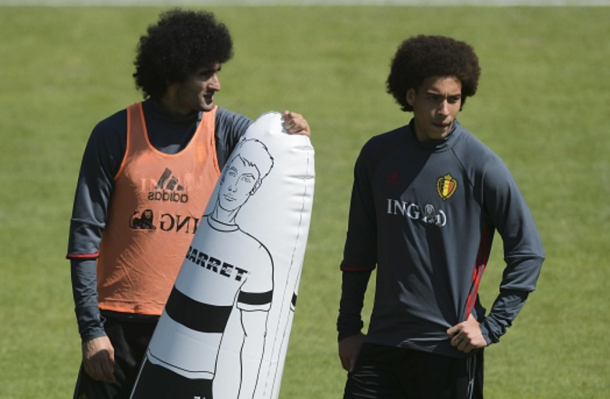 Fellaini and Witsel could hold down Belgium's central midfield positions. (Picture: Getty Images)