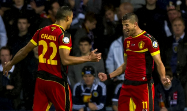 Chadli and Mirallas will both have to watch the Euros from home. (Picture: Getty Images)